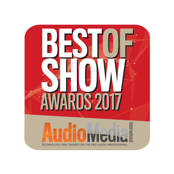 Best Of Show Award - Audio Media International - IBC 2017