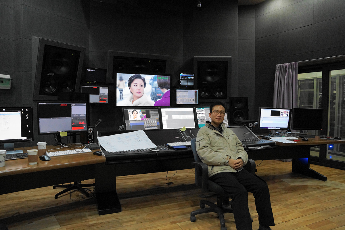 Choi Myung Gyu - Project Leader for KBS Technical Operations