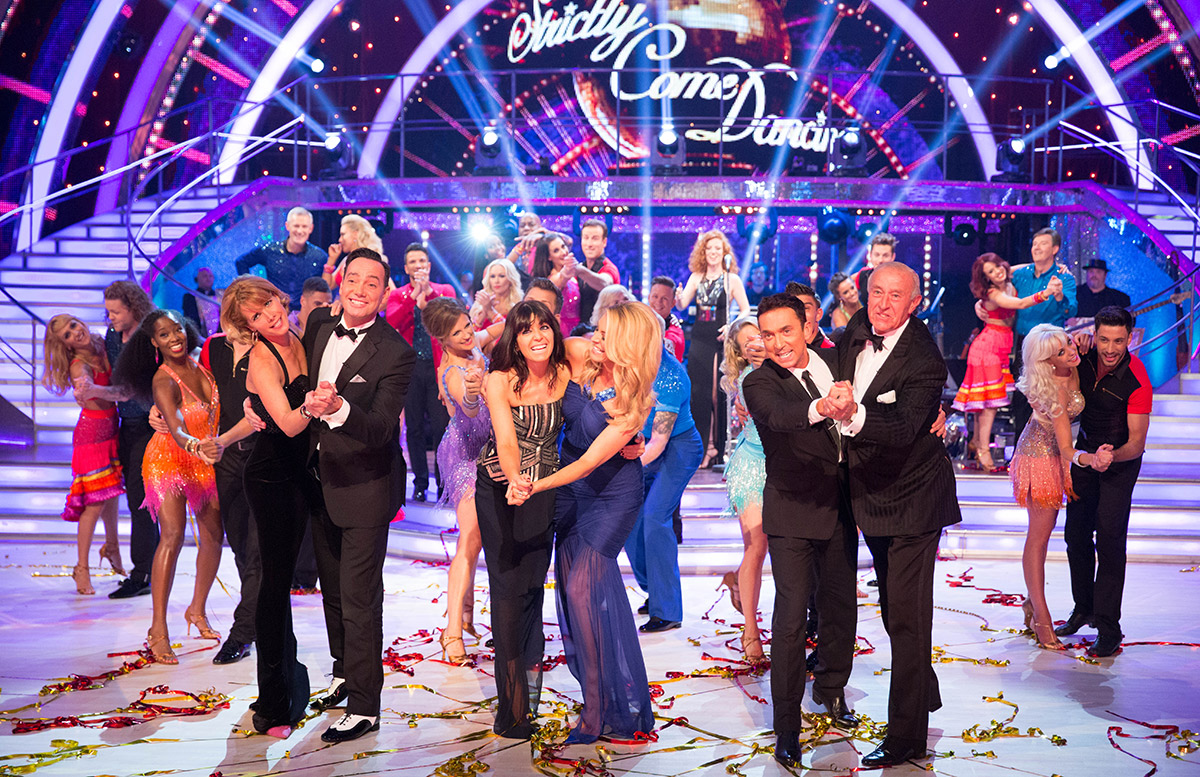 Darcey Bussell, Craig Revel Horwood, Claudia Winkleman, Tess Daly, Bruno