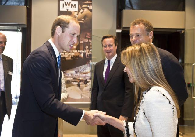 Duke of Cambridge and Prime Minister