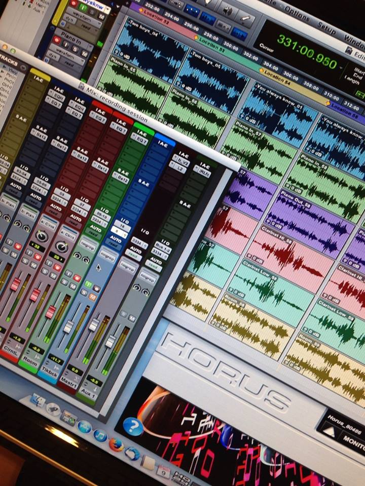 Horus on Pro Tools screenshot