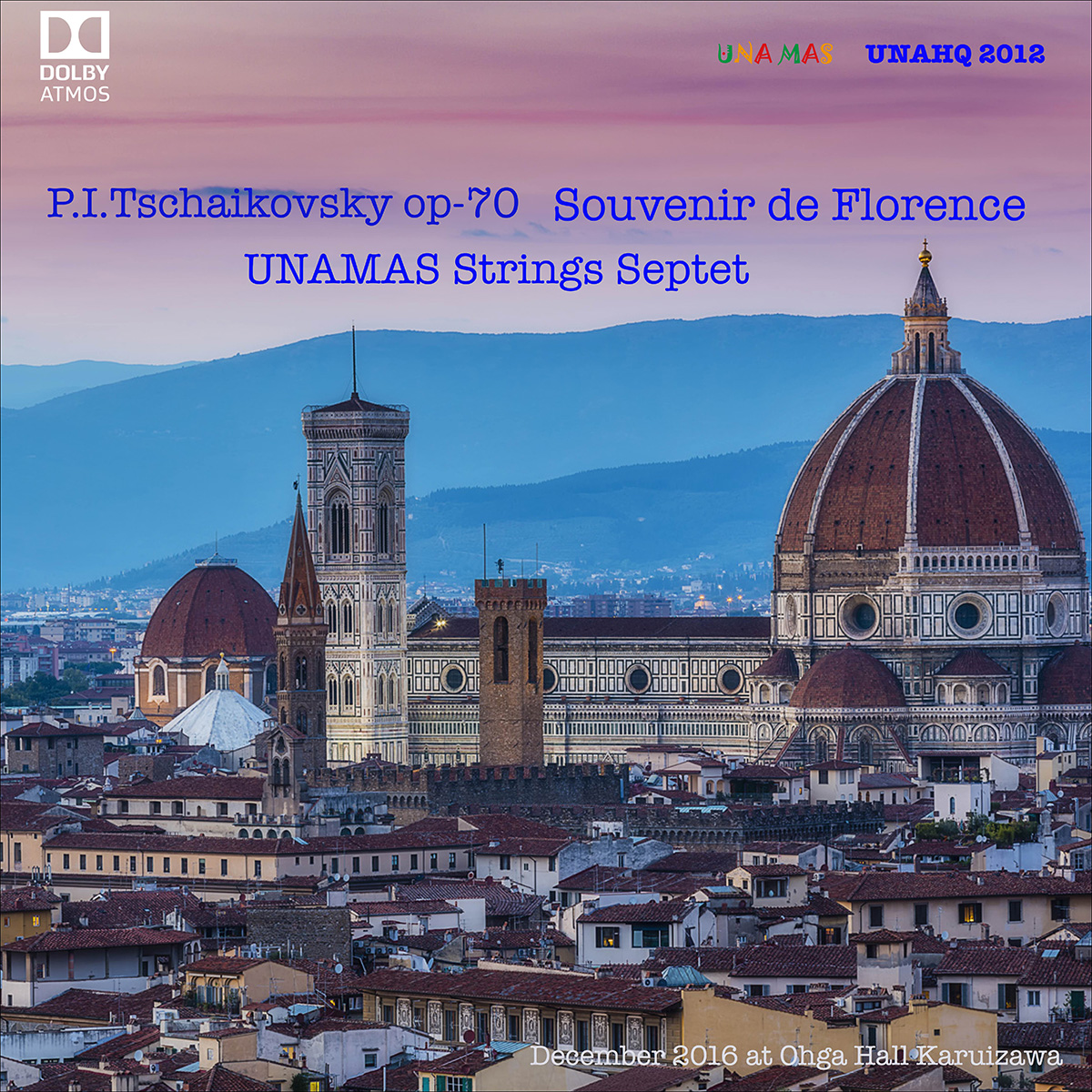 UNAHQ 2012 FLORENCE - Dolby Atmos