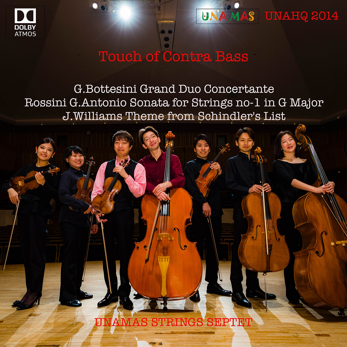 UNAHQ 2014 Touch of ContraBass - Dolby Atmos