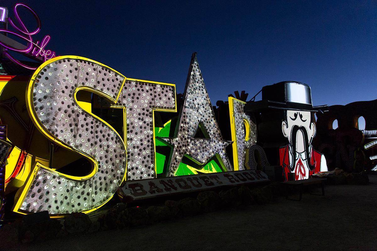 Brilliant! Star Banquet Room (Image Credits – The Neon Museum)