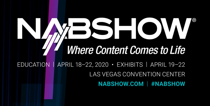NAB 2020 - Cancelled