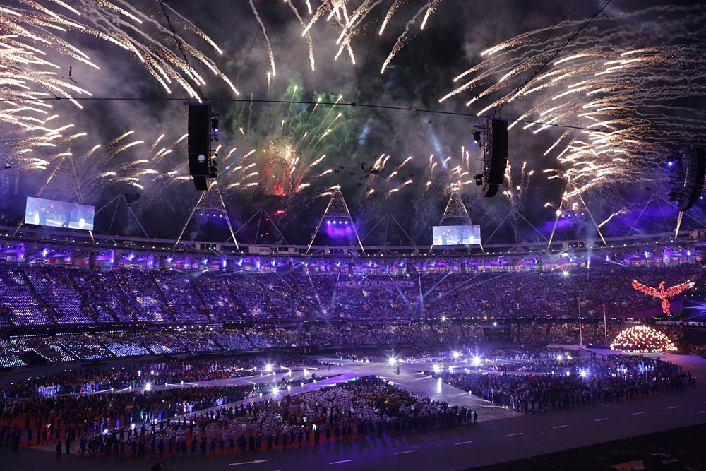 Spectacular Olympic and Paralympic opening and closing ceremonies