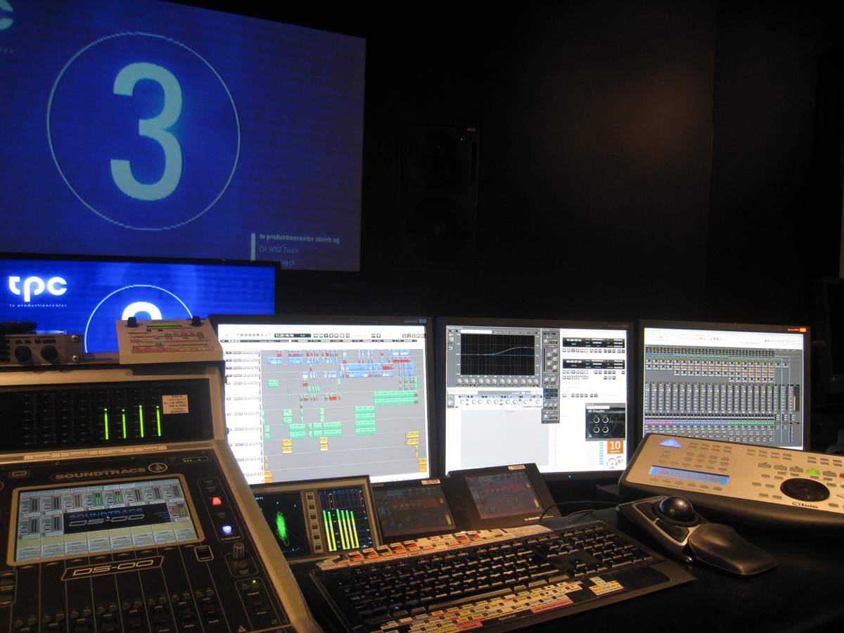 TPC studio equipped with Merging hardware and software